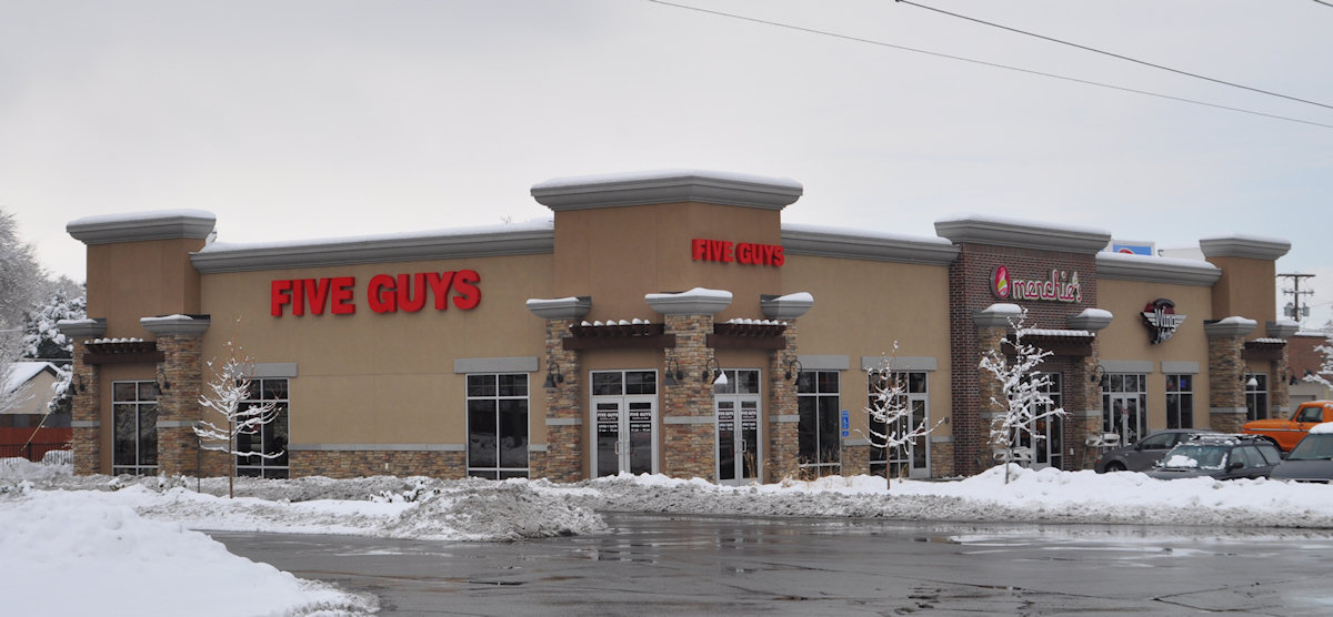 five guys 3300 South
