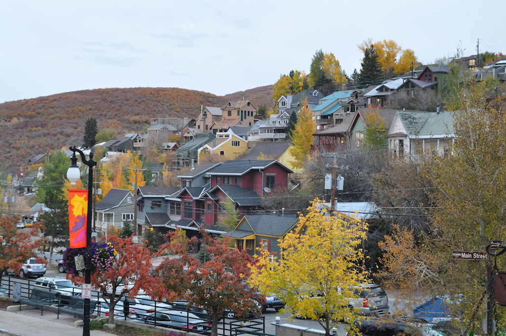 Park City in the Fall