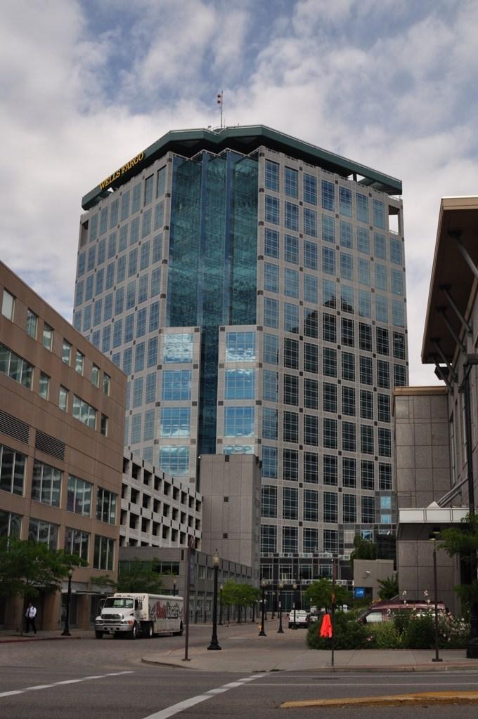 Salt Lake City Wells Fargo Building