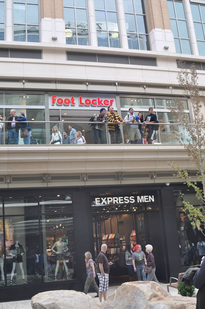 Express Men and Foot Locker