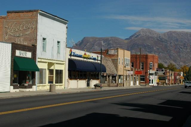 Downtown Lehi, Utah