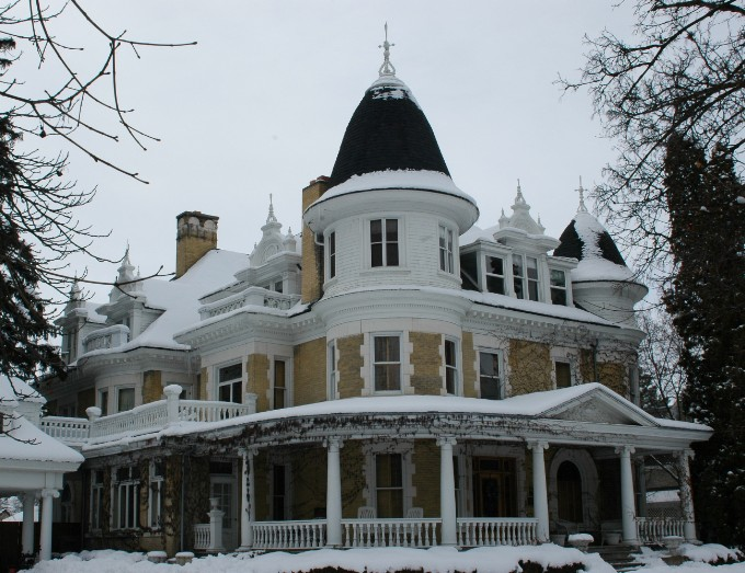 Eccles mansion for Utah home design architects