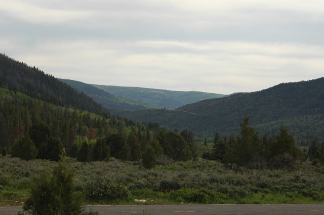 Rolling Hills of the Uintas