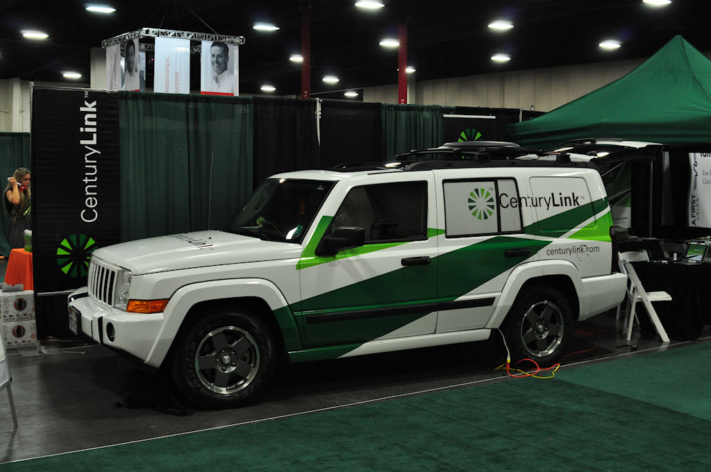 CenturyLink Vehicle : A display by CenturyLink.