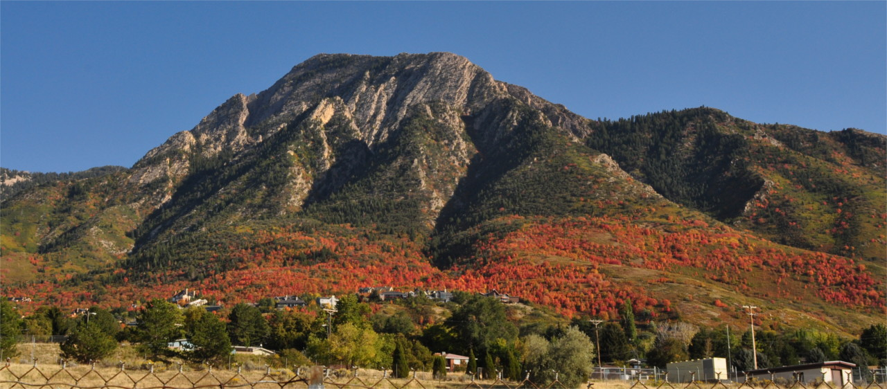 Mount Olympus in Red