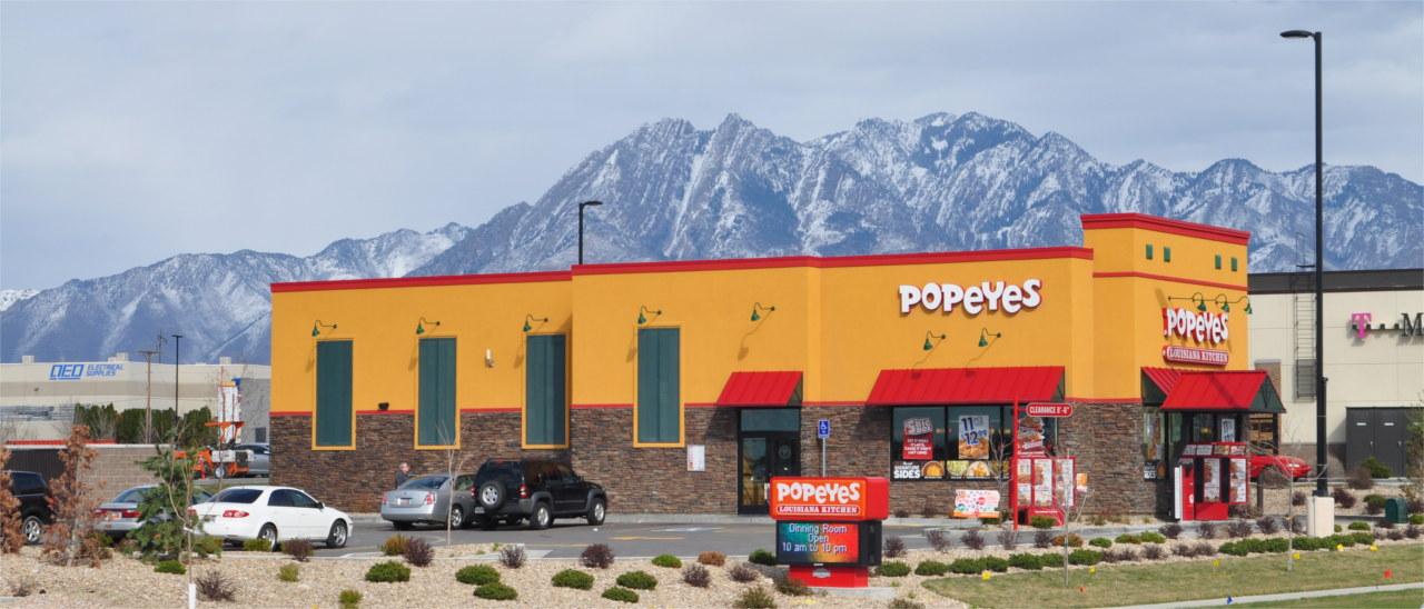 Popeyes - Midvale, Utah